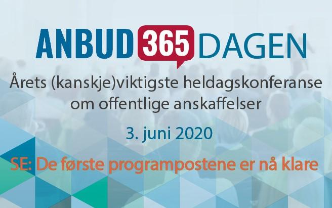 Anbud365: Anbud365-dagen 3.juni Et realt kompetanseløft venter!