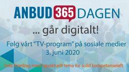 Anbud365: Anbud365-dagen 3. juni Et tettpakket, høyaktuelt program for solid kompetanseløft