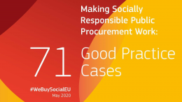Anbud365: EU-samling med 71 eksempler på sosialt ansvarlige anskaffelser – Skien og Oslo er med