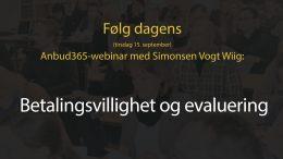 Anbud365 : Webinar 15.09.2020