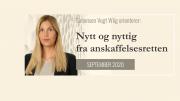 Anbud365: Nytt og nyttig fra anskaffelsesretten - september