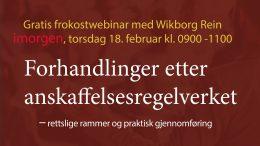 Anbud365: Klart for årets første – gratis - Anbud365-webinar i morgen, enorm interesse