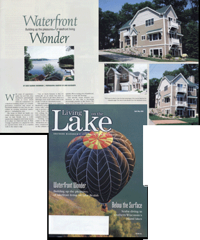 Designer/Builder of Living on the Lake Feature Home
