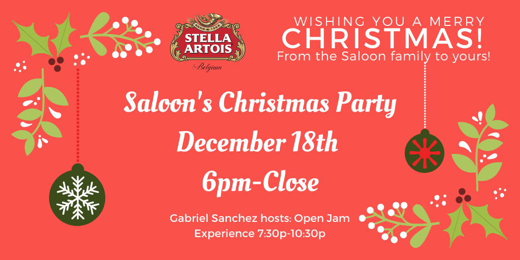 Saloon's Christmas Party