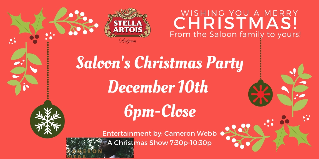 Saloon Christmas Party