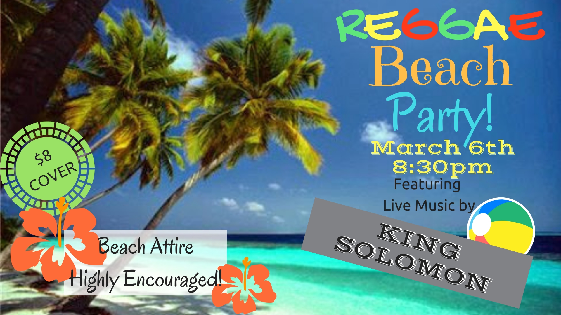 Beach Party hosted by King Solomon