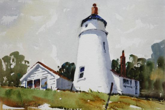 Old Lighthouse on the Wash