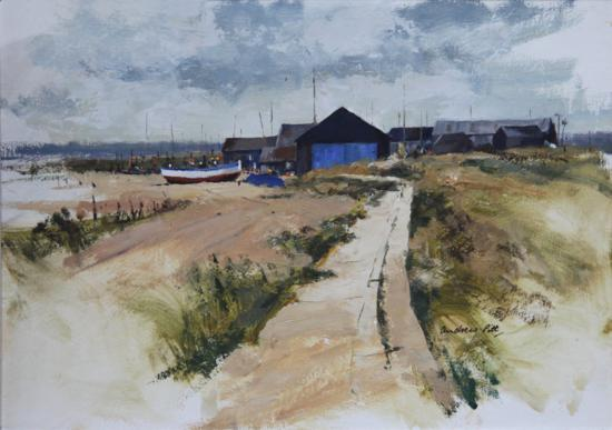 Cloudy Day, Southwold