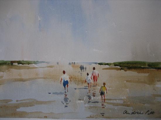 Wet Sands - North Norfolk