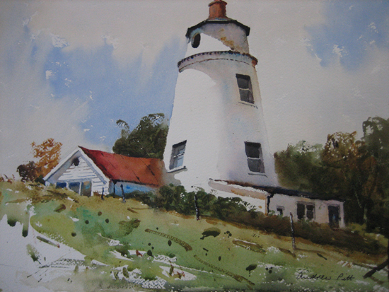 Peter Scott's Old Lighthouse - Sutton Bridge