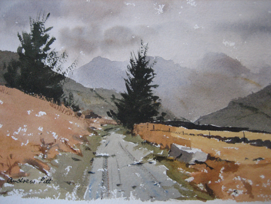 A Wet Day in Langdale