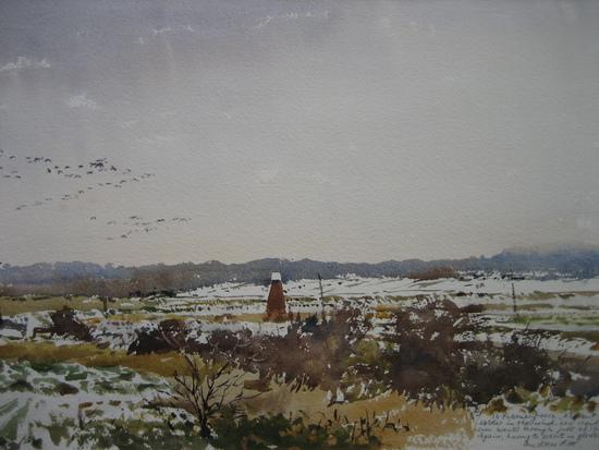 Snow in the Blyth Valley