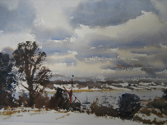 Winter on the River Orwell