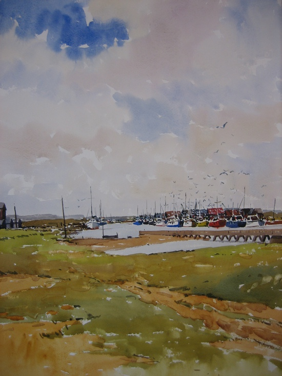 The River Blyth from Walberswick