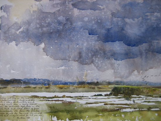 Another Wet Day on the Marshes