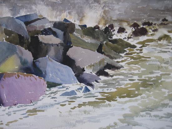 Rock Revetments - Southwold