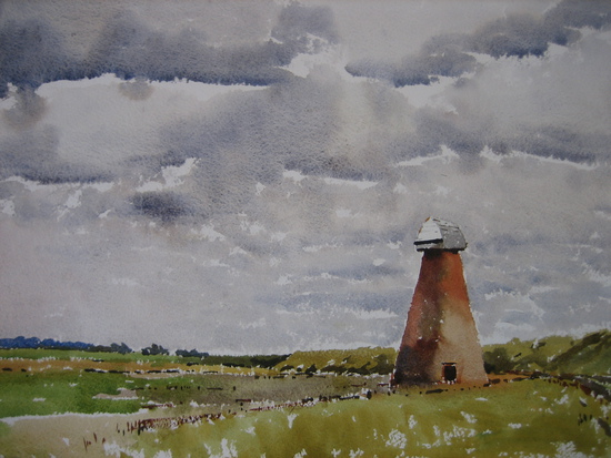 A Cloudy Day on the Marshes