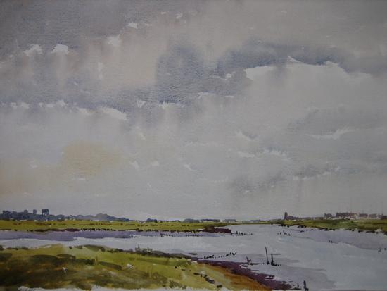 Southwold Skyline from Wolsey Creek