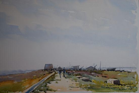 September Morning - Aldeburgh