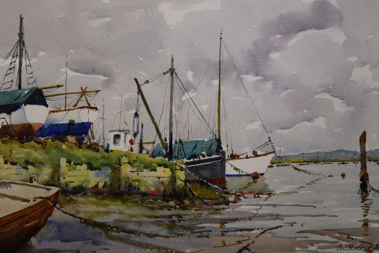Winter Morrings - West Mersea