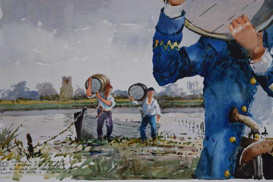 Smugglers on the River Blyth