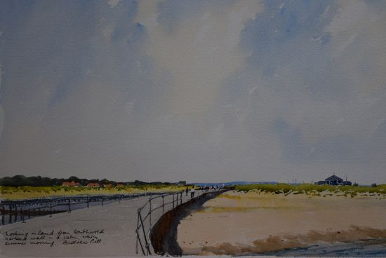 On the Harbour Wall - Southwold