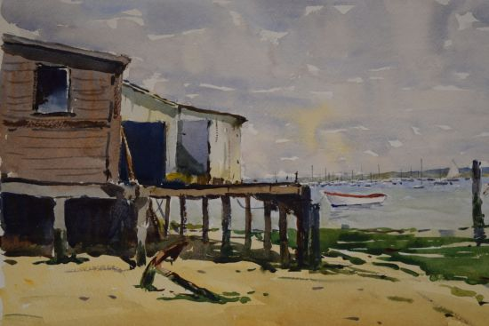 Old Shed at Old Felixstowe