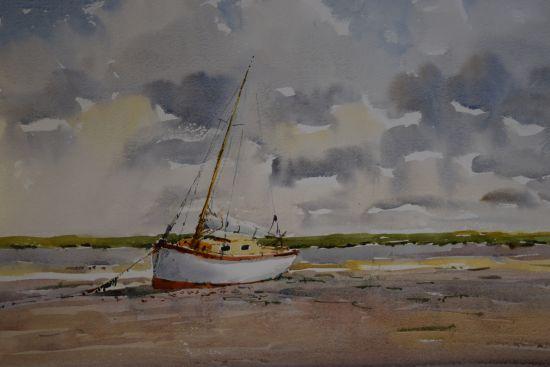 Sailing Boat at Brancaster