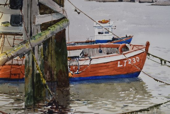 The Red Fishing Boat - Southwold