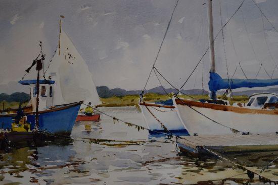Sailing on the Blyth