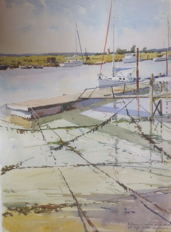 High Tide - the River Blyth