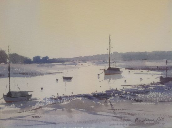 The Deben at Woodbridge - late afternoon