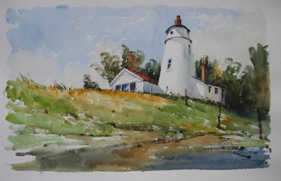 Lighthouse on the Wash