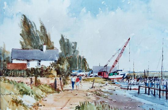 Footpath St Osyth Creek
