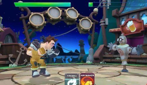 Android akční hra pro více hráčů Smash Supreme