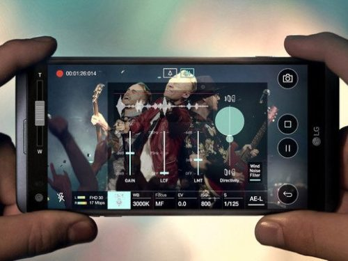 LG V30 mobilní telefon