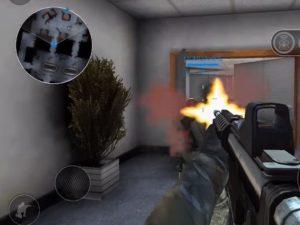 Hra na mobil Bullet force