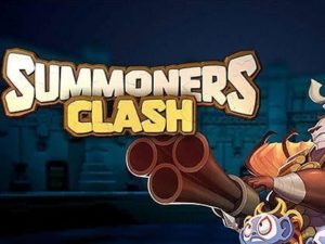 Hra na mobil Summoners Clash