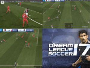 Hra na mobil Dream league: Soccer 2017