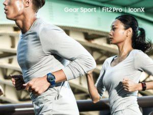 Nová a zdokonalená elektronika od Samsungu - Gear Sport, Gear Fit2 Pro, Gear Icon X