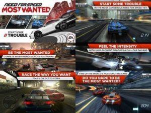 Hra na mobil Need for Speed: Most Wanted ke stažení na mobil