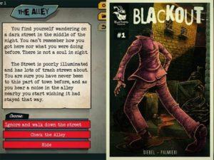 Blackout přináší interaktivní hru na iOS a Android