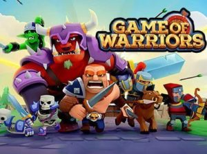 Hra na mobil Game of warriors