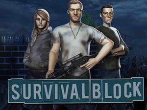 Hra na mobil Survival block