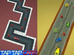Hra na mobil Tap Tap Cars
