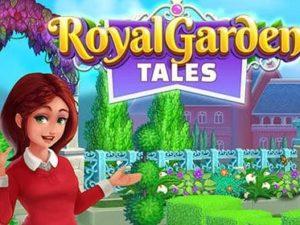 Hra na mobil Royal garden tales