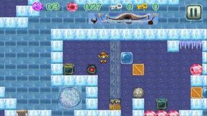 Android hra Diamond rush: Temple adventure
