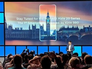 Huawei Mate 20 a Mate 20 Pro bude odhalen v Londýně