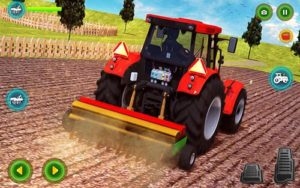 Hra Modern tractor farming simulator