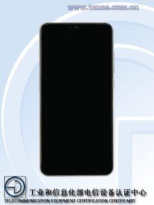 Xiaomi Mi 8X - přední strana